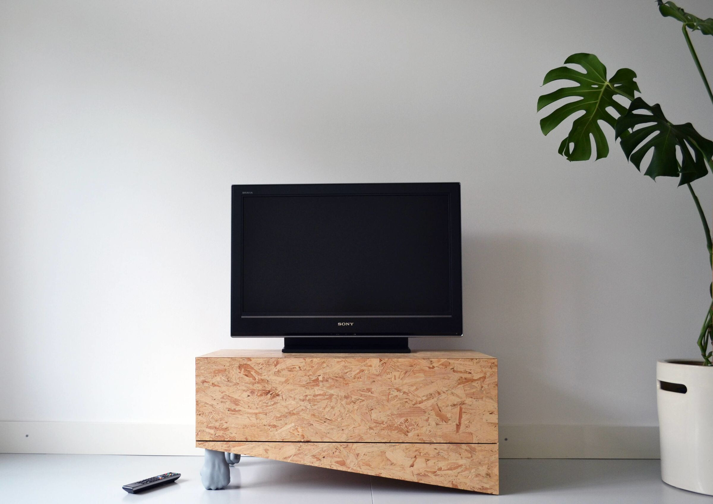Push Up Wooden Cabinet