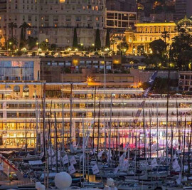 New building for the Yacht Club de Monaco