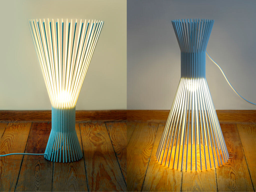 SOLEJKA steel wire lamp