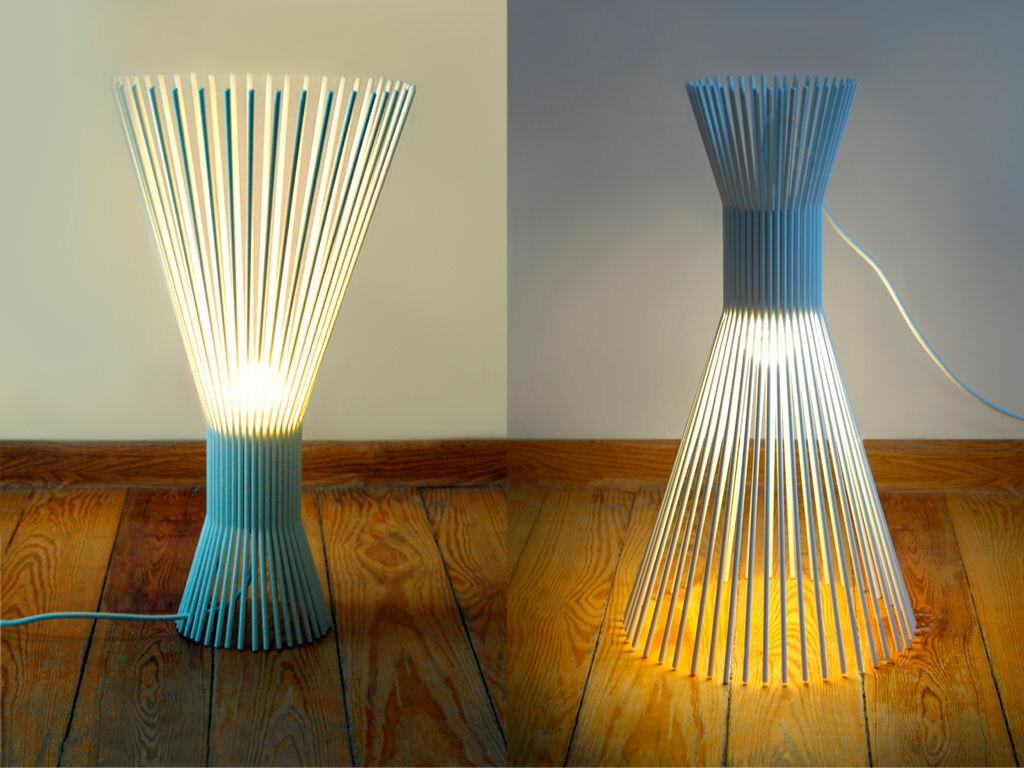 SOLEJKA steel wire lamp