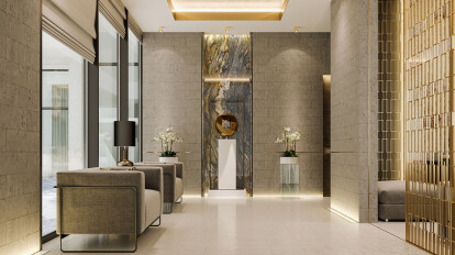 Interior Design of Modern Luxury Residence | Comelite Architecture ...