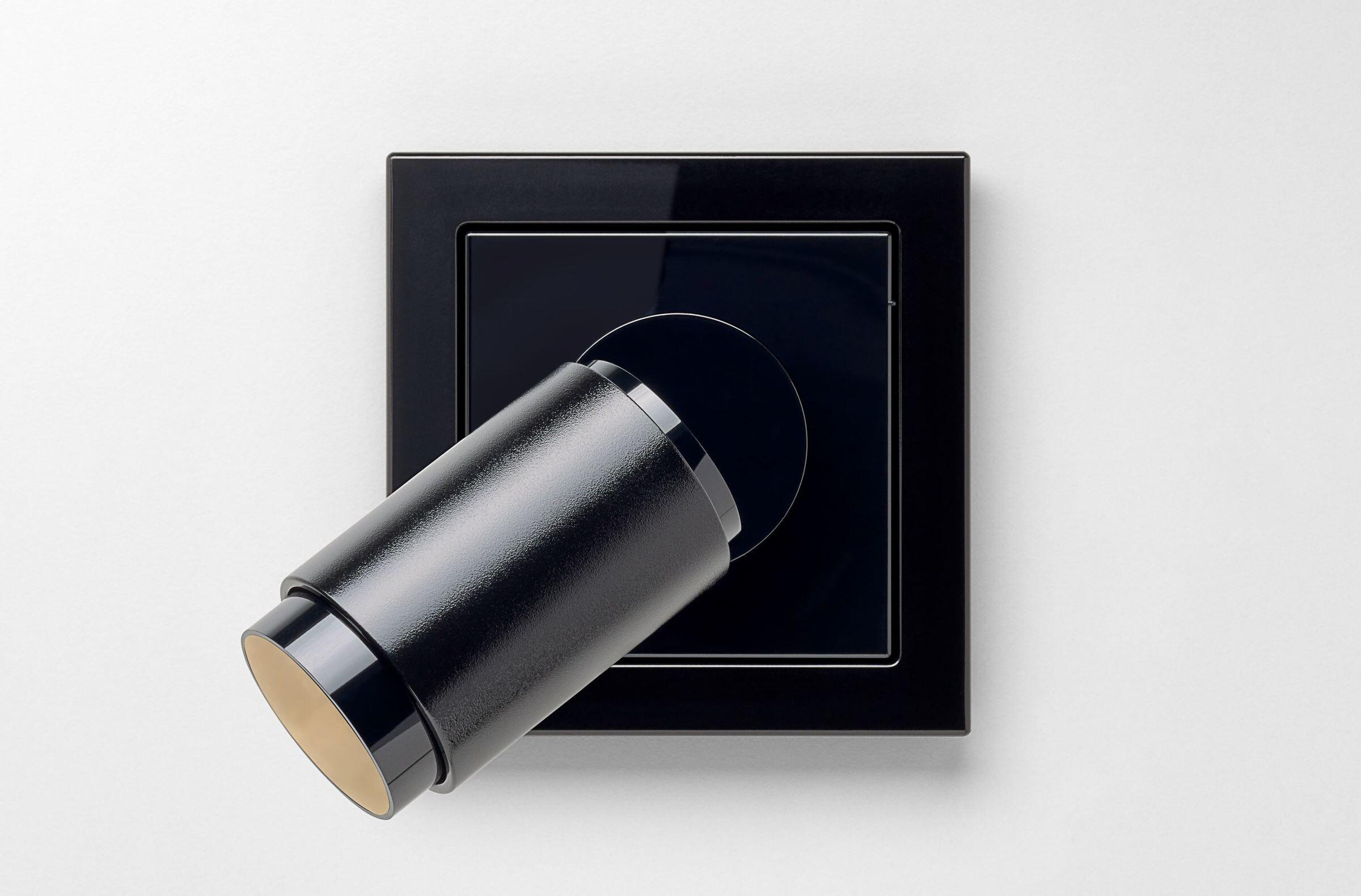 LS Design LED Spotlight black