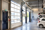 Compact door: more space for your installations