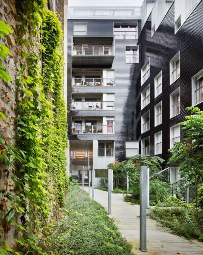 Social-Housing units in Paris