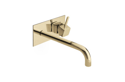 Groove Wall Mixer Tap