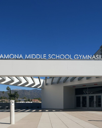 Ramona Middle School Gymnasium