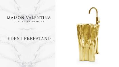 EDEN FREESTAND WASHBASIN by Maison Valentina