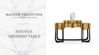 Sinuous Dressing Table