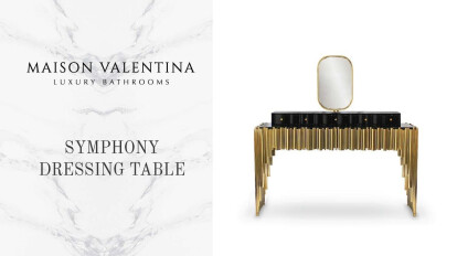 Dressing Table Symphony by Maison Valentina