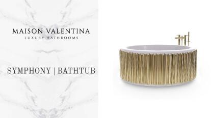 Symphony Round Bathtub I Maison Valentina