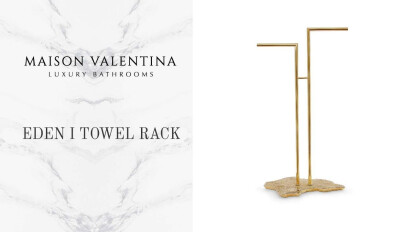 Eden Towel Rack - Maison Valentina