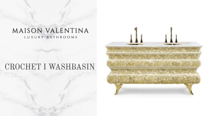 Crochet Washbasin by Maison Valentina