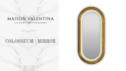 Colosseum Wall Mirror I Maison Valentina