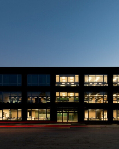 Transport and logistic company Office building