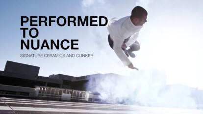 Performed to nuance. Signature clinker & ceramic. English Version