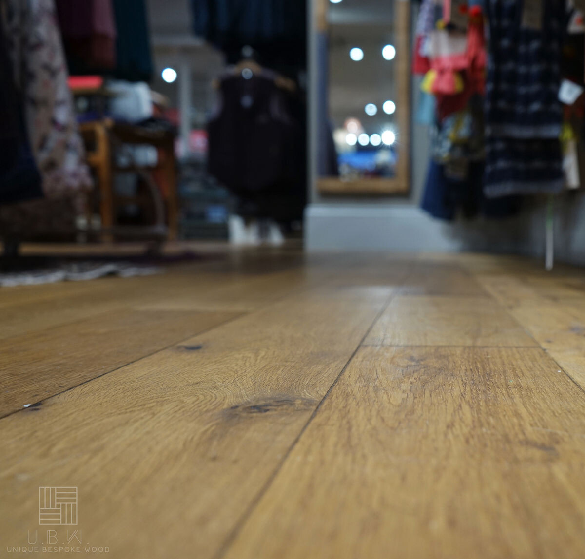 Vanilla White - engineered oak wood floors