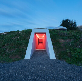 The Color Inside, James Turrell Skyspace