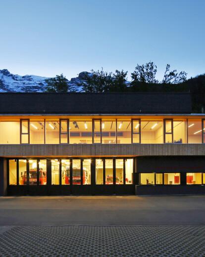 Fire Station Club House Gnadenwald