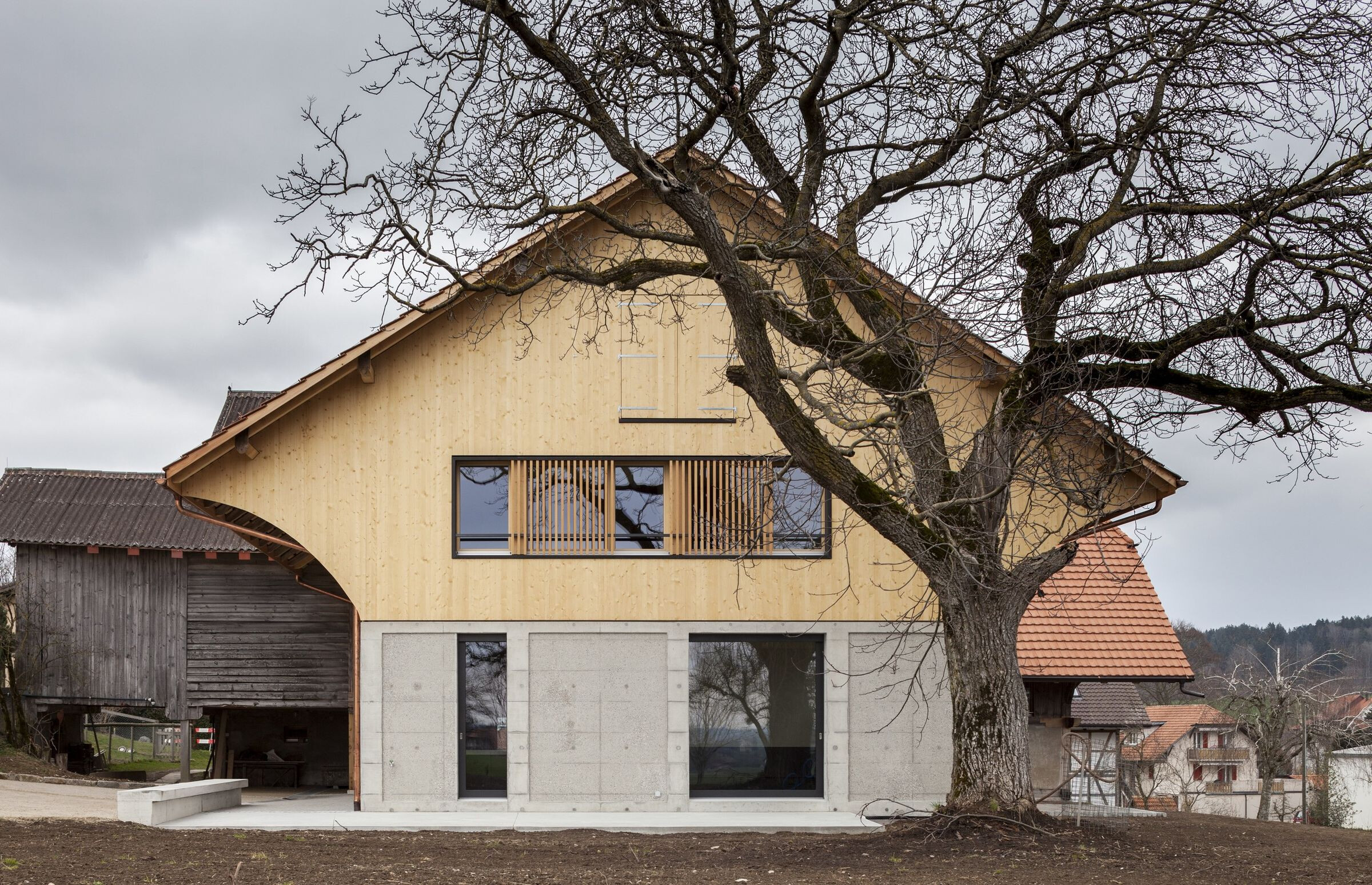 Transformation of listed farmhouse