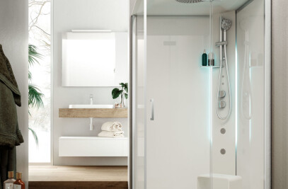 Metis multifunctional shower cabin