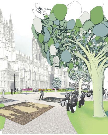 Precincts Canterbury Cathedral