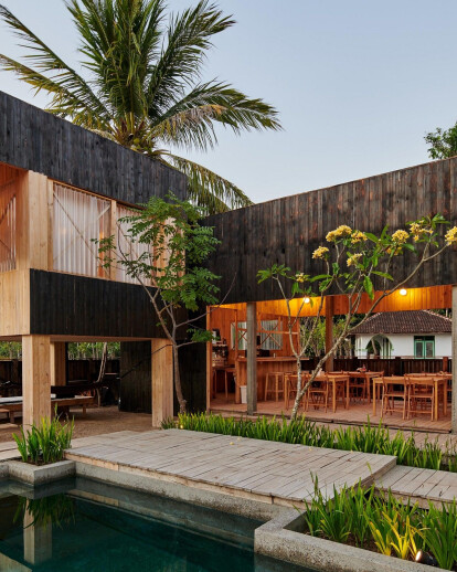 Beach front Cabin in Tropical Lombok Island