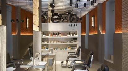 Barber's Club: Minimal Studio & Arnau Rayó