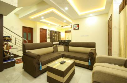 Minimalistic Home Interior Designers Kochi, Kerala
