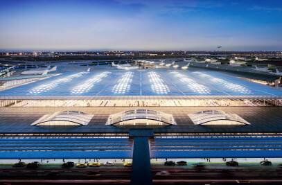 New O'Hare Global Terminal in Chicago