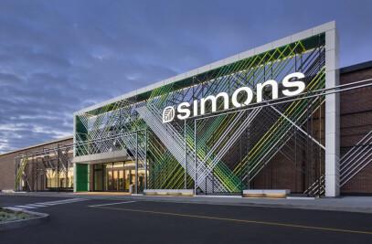 La Maison Simons Galeries De La Capitale