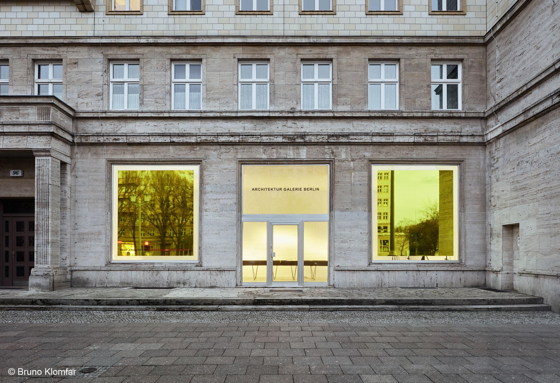BEHF, WIENER GEMISCHTER SATZ Exhibition