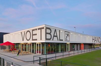 Sports paviljon at Fletiomare-Oost