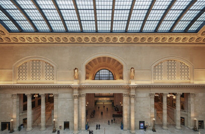 Restoration Of Chicago's Historic Union Station Gr