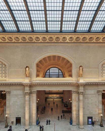 Restoration Of Chicago's Historic Union Station Gr