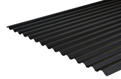 Cladco 13/3 Corrugated Sheets in Anthracite PVC 0.7mm thickness