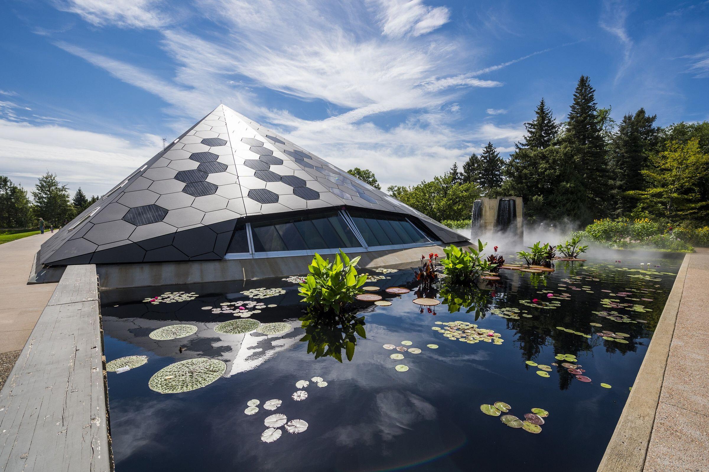 Denver Botanic Gardens Science Pyramid