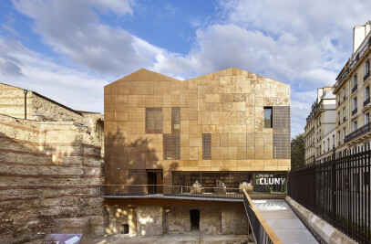 New Visitor Center of Cluny Museum