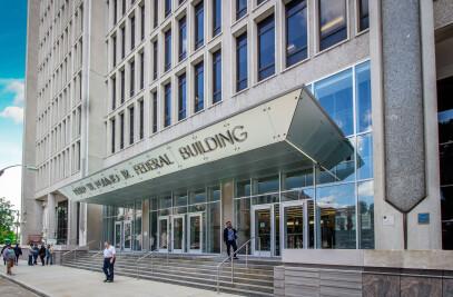 Peter W. Rodino Jr. federal building new vestibule