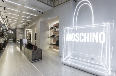 New Moschino boutique in Paris