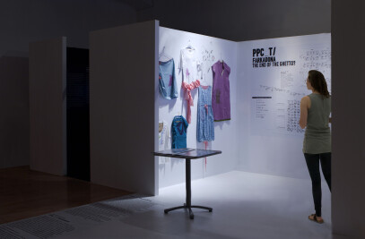 Ethics/Aesthetics exhibition design