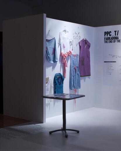 Ethics/Aesthetics exhibition design