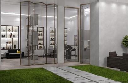 Modern Luxury Indoor Garden Design