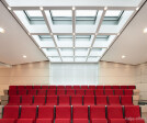 lecture hall with daylight