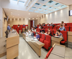 lecture hall in action