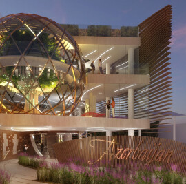 Azerbaijan Pavilion - Treasure Of Biodiversity For Expo Milano 2015