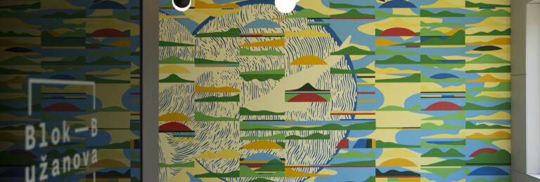 """A mural """"Vista"""" by Mario Kolaric"""