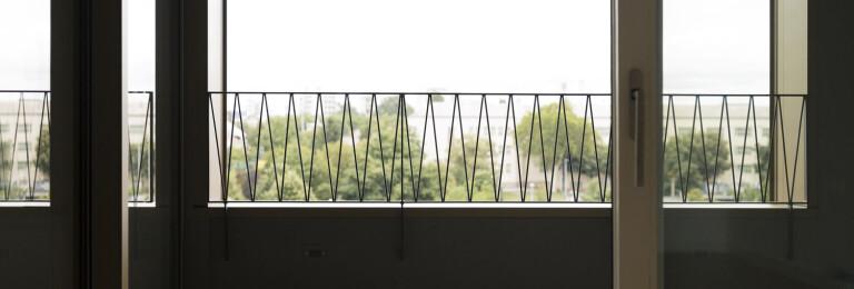 Detail of the apartment balconies/loggias