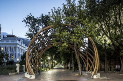 Desmond Tutu Memorial Arch - Arch for The Arch