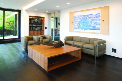 William Garvey's Bespoke Coffee Table with Isolation design feature