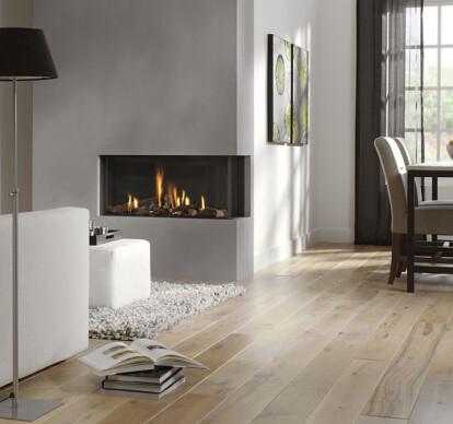 Bidore 95 Corner Style Gas Fireplace